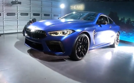 В Японии представили купе BMW M8 Competition
