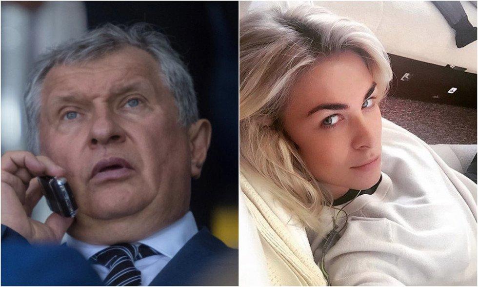 Сечин и Ольга Рожкова