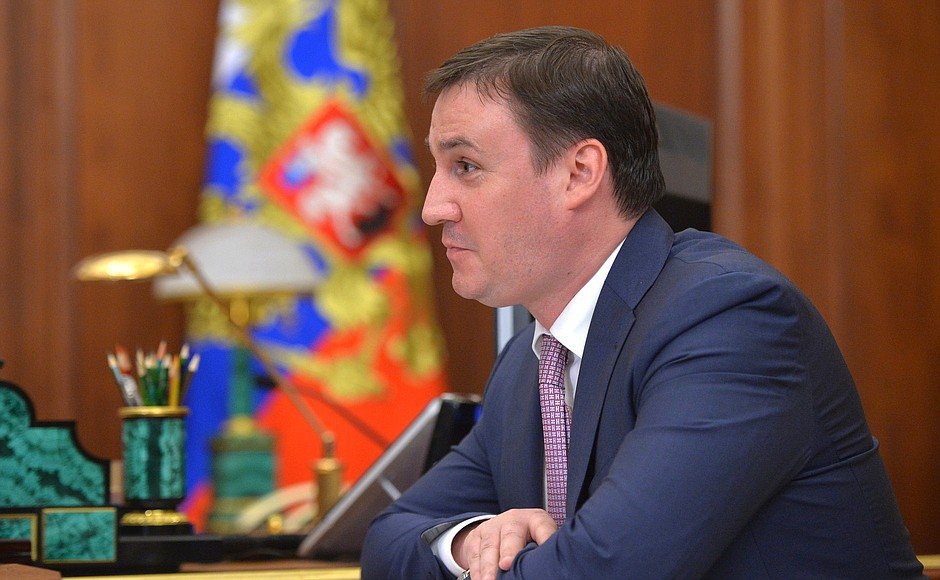 Дмитрий Патрушев у Президента РФ