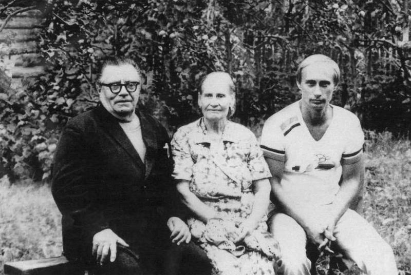 Владимир Спиридонович и Мария Ивановна Путины