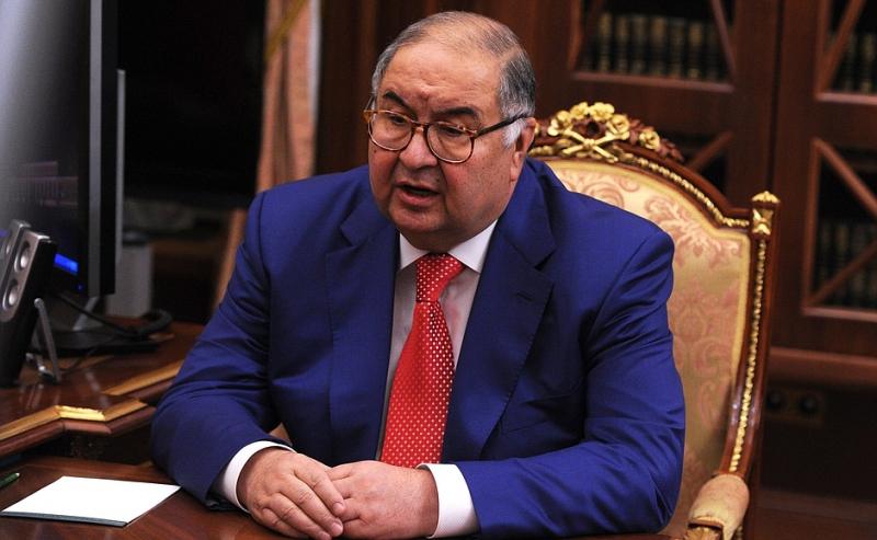 Алишер Усманов в Кремле