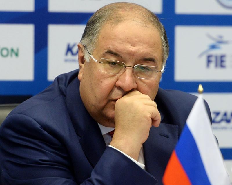 Алишер Усманов на конференции