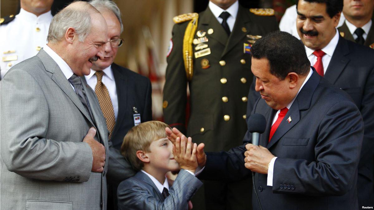 С президентом Венесуэлы