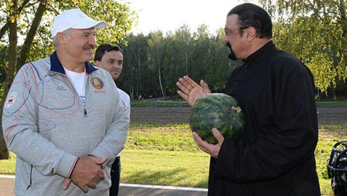 Лукашенко и Сигал