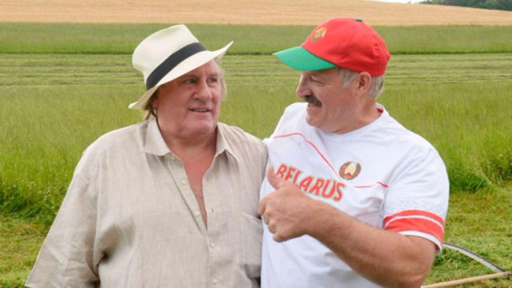 Лукашенко и Депардье