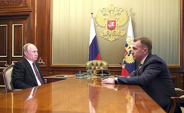 Шувалов и Путин