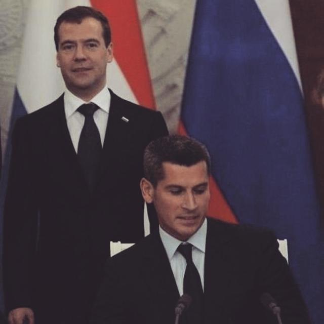 Магомедов с Медведевым