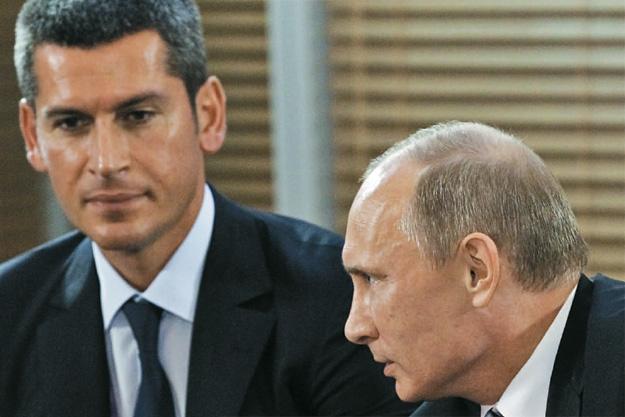 Магомедов с Путиным