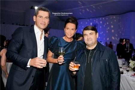 Ольга с мужем и экс-министром транспорта России Игорем Ливитиным