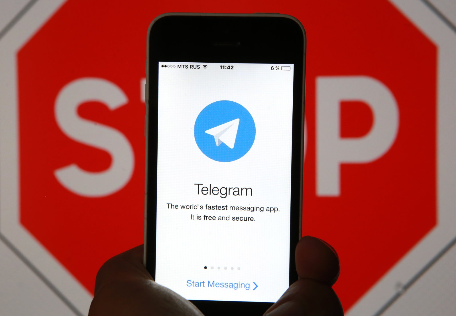 Телеграм против Роскомнадзора