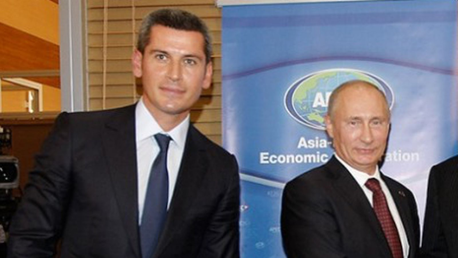 Магомедов и Владимир Путин
