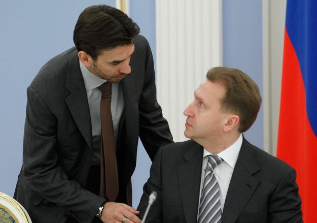 Михаил Абызов и Юрий Шувалов