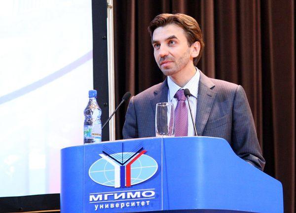 Министр Абызов на встрече со студентами МГИМО
