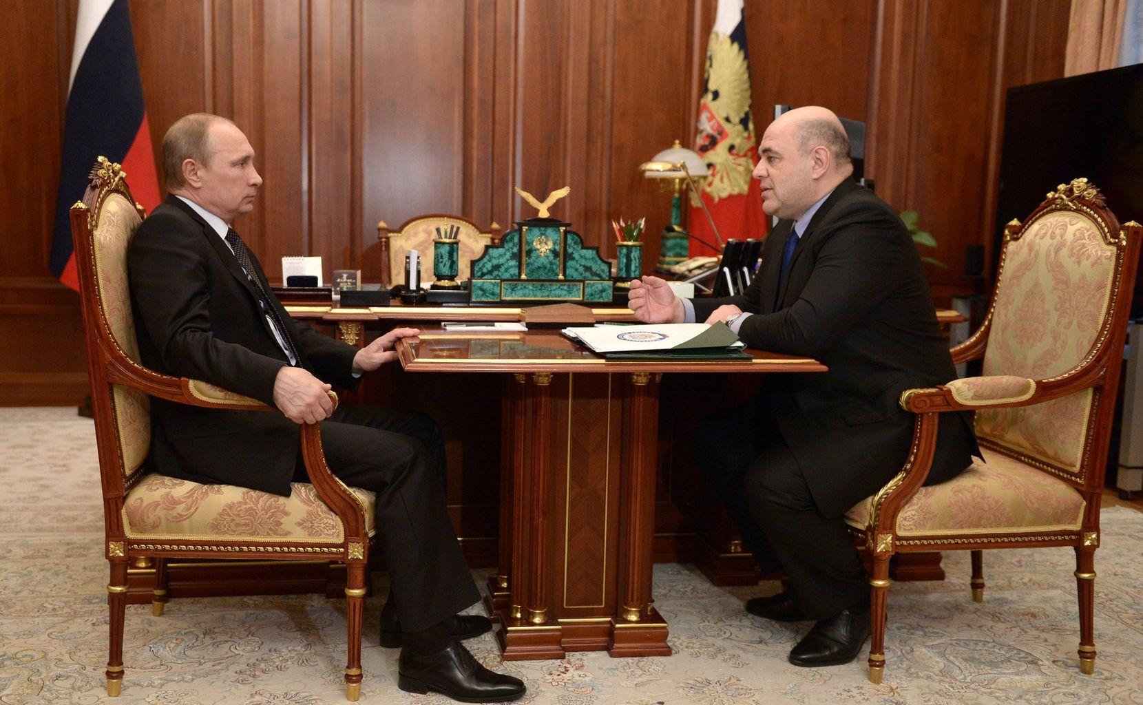 Рабочая встреча с Владимиром Путиным