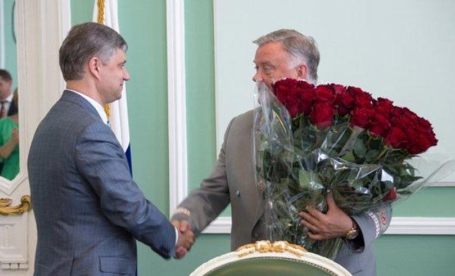 Олег Белозеров и Владимир Якунин