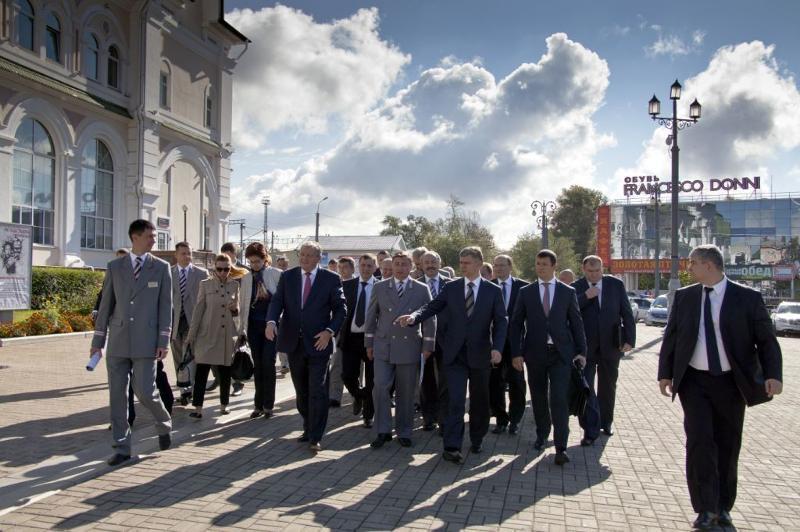 Олег Белозёров на Дальневосточной магистрали