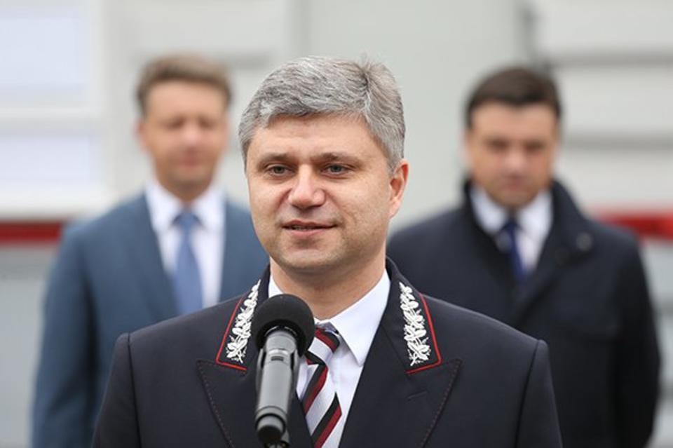 """Президент ОАО """"Российские железные дороги"""" Олег Белозеров"""