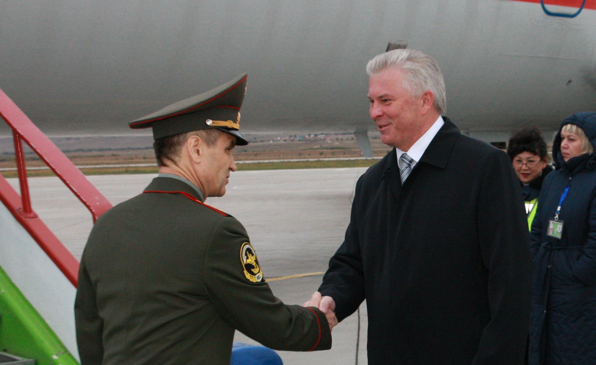 Глава МВД России Рашид Нургалиев в Бурятии