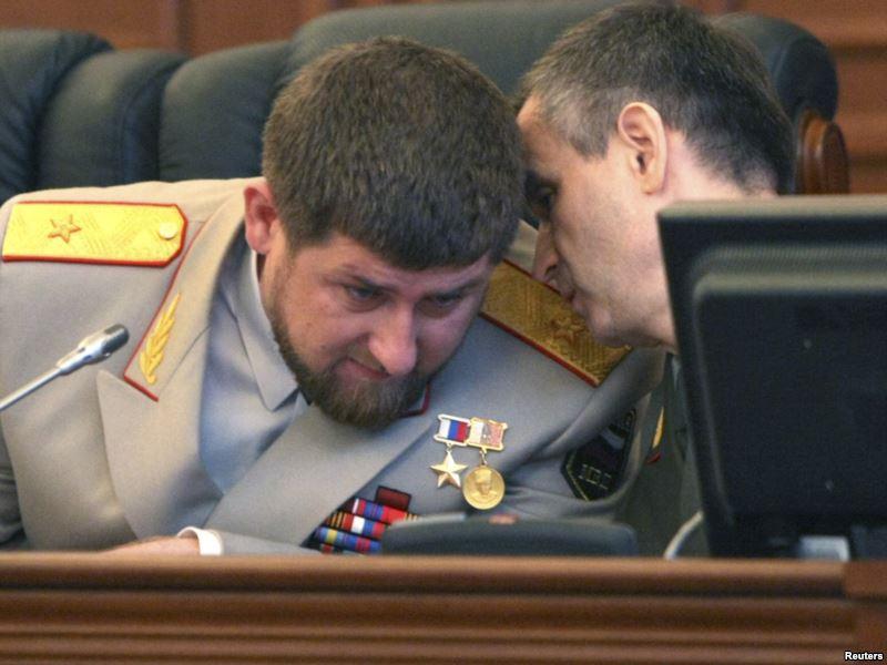 Совещается с Кадыровым