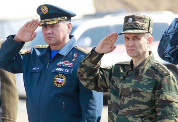 Нургалиев и Шойгу