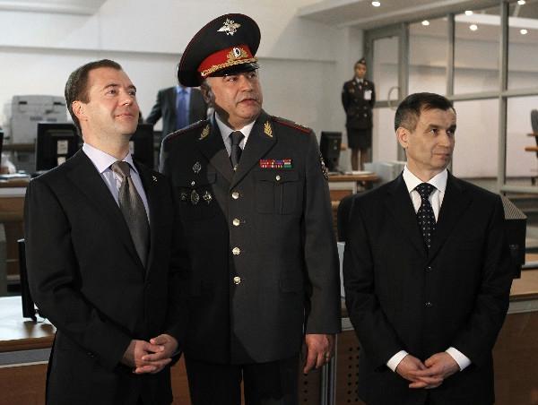 Нургалиев и Медведев