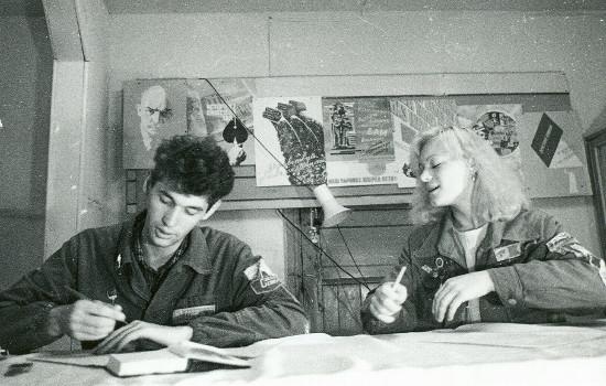 Андрей Кузяев в университетские годы