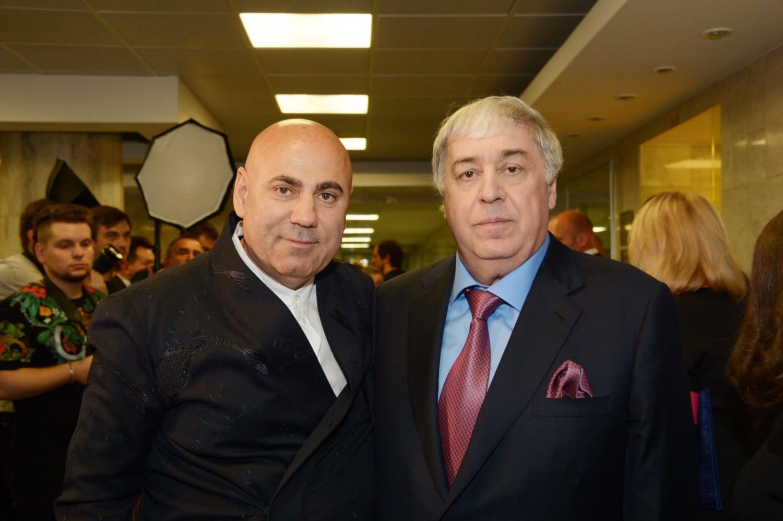 Михаил Гуцериев и Иосиф Пригожин