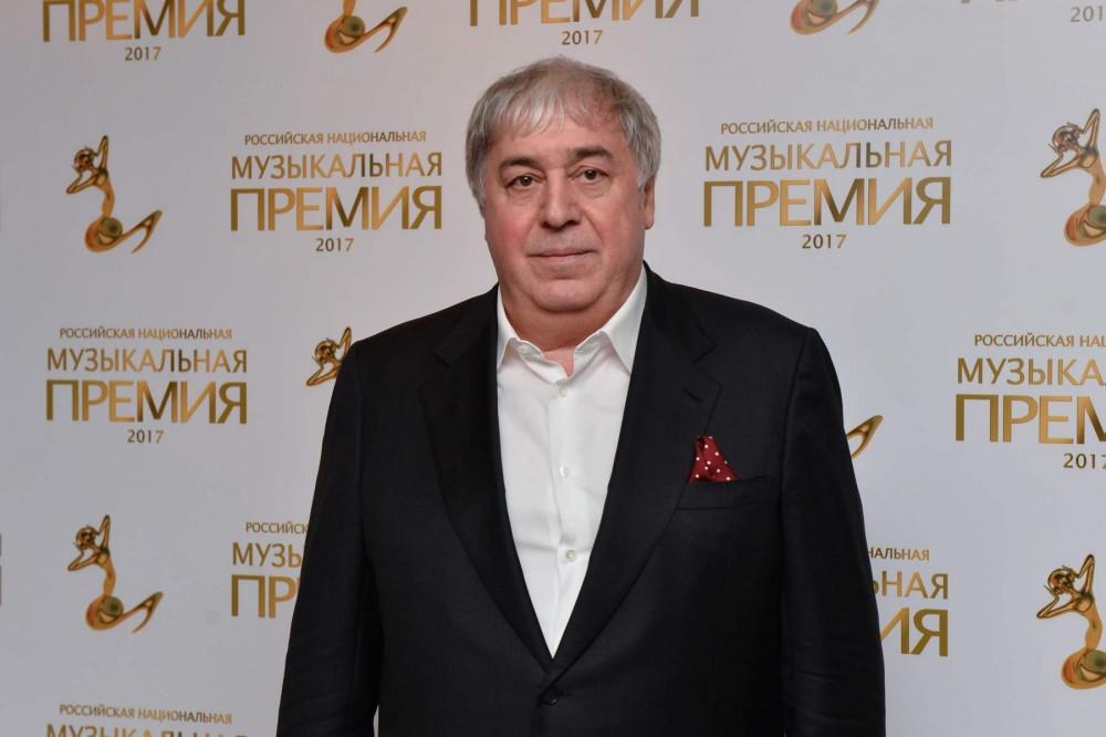 Михаил Гуцериев на Российской национальной музыкальной премии