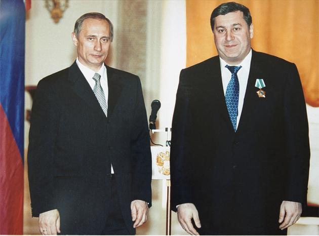 Гуцериев Михаил и Путин