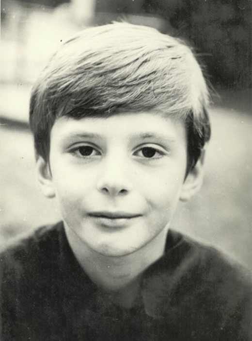 Михаил Прохоров в детстве