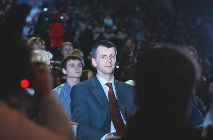 На встрече с молодежью Санкт-Петербурга