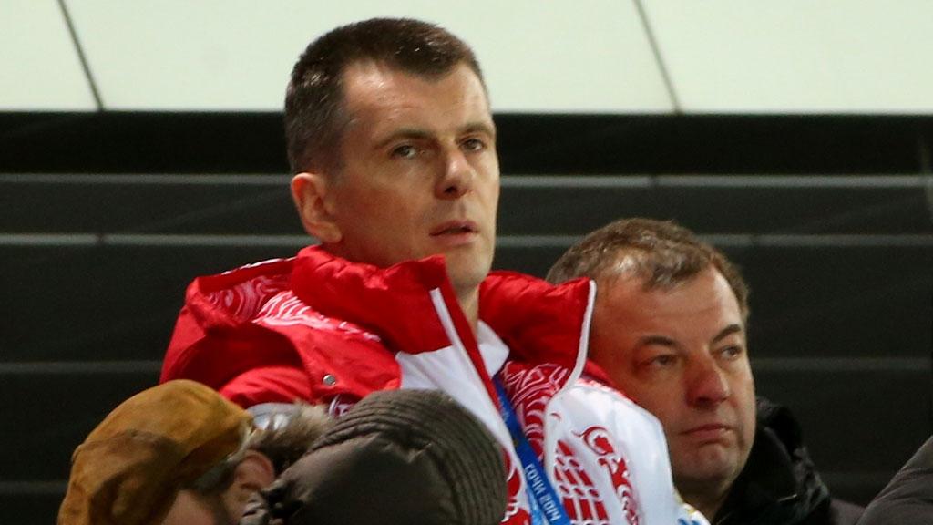 Прохоров на биатлоне