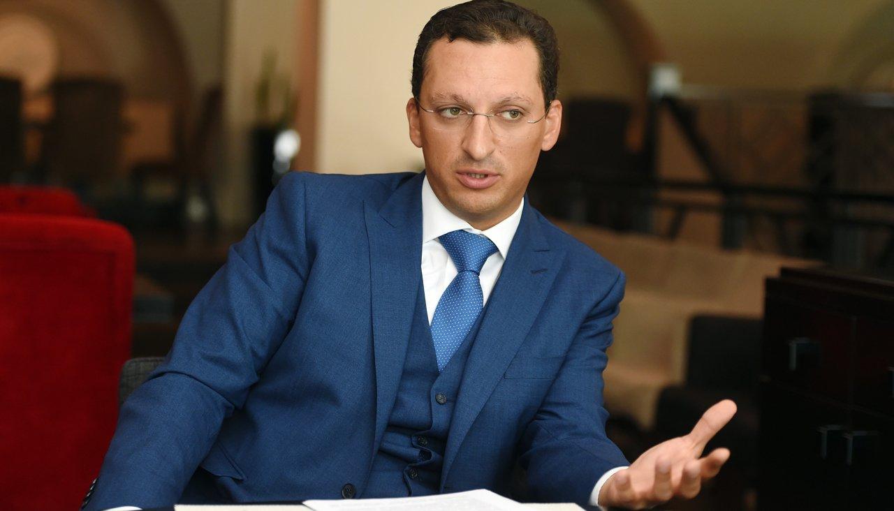 Заместитель председателя правления СИБУРа Кирилл Шамалов