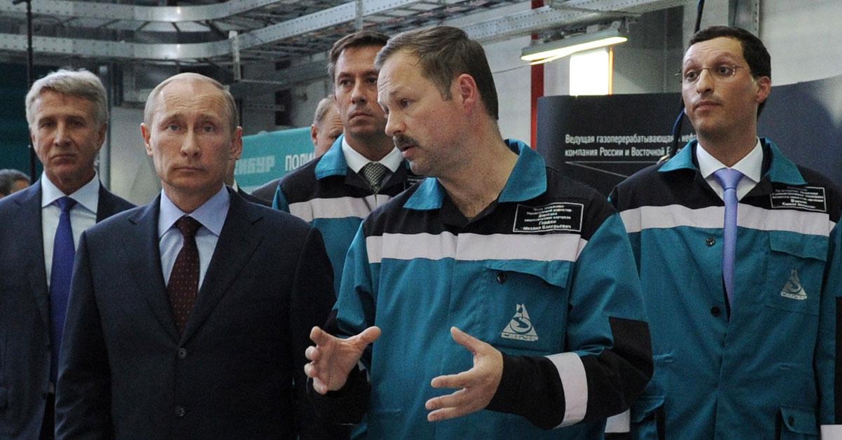 Шамалов и Путин