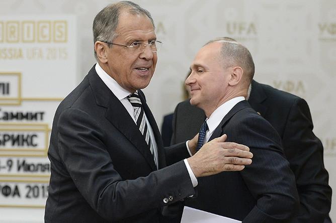 Сергей Кириенко и Лавров