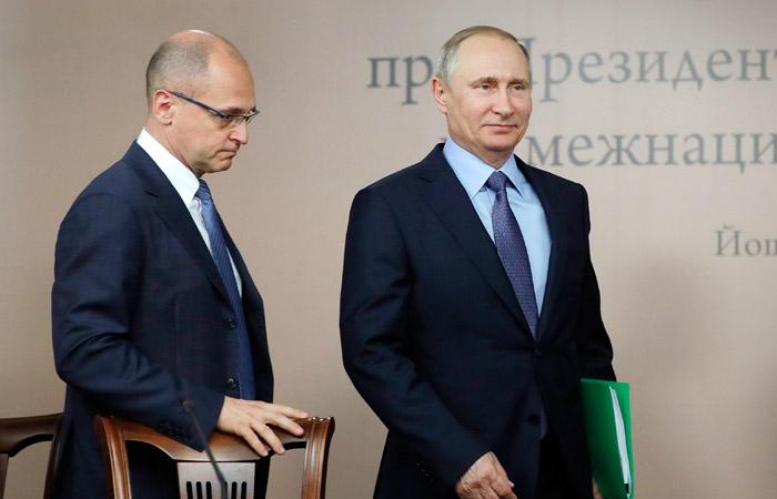Кириенко и Путин