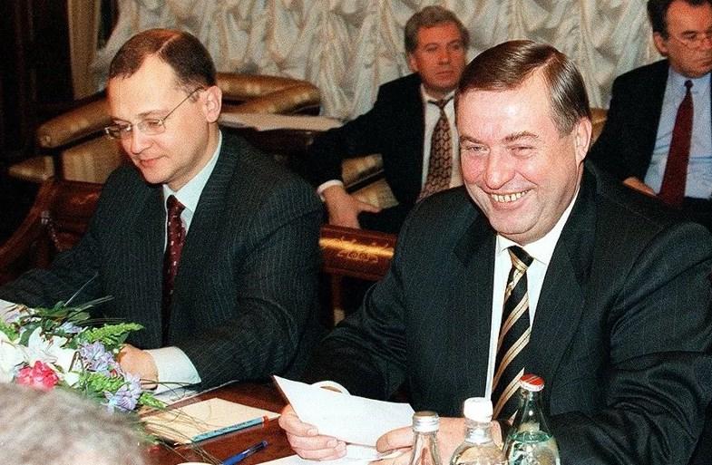 Сергей Кириенко и спикер Госдумы Геннадий Селезнев