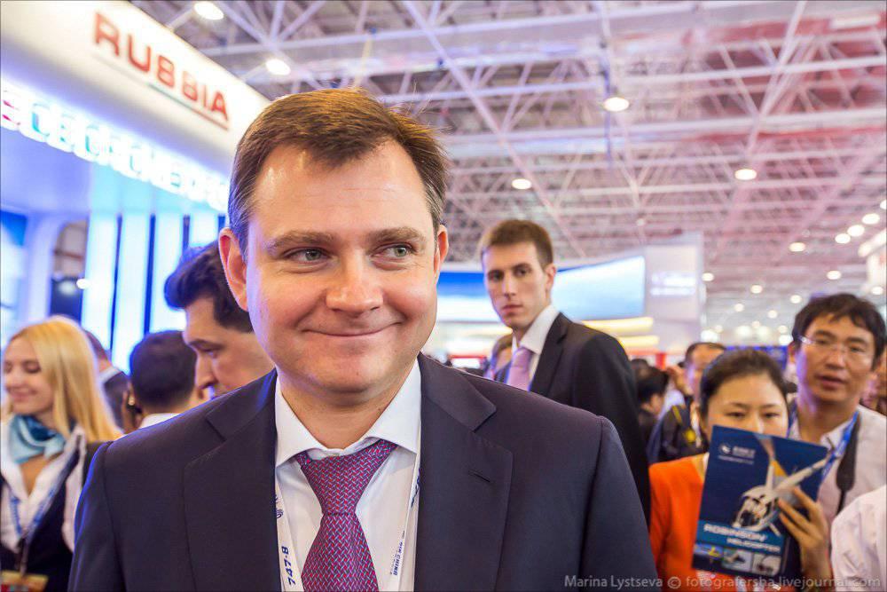 Заместитель промышленности РФ Юрий Слюсарь