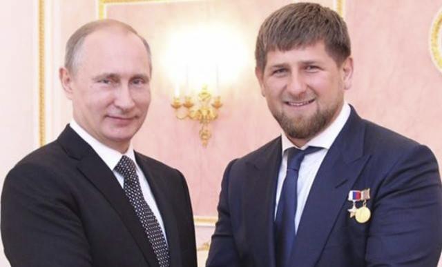 Рамзан кадыров поздравил владимира путина с днем рождения.