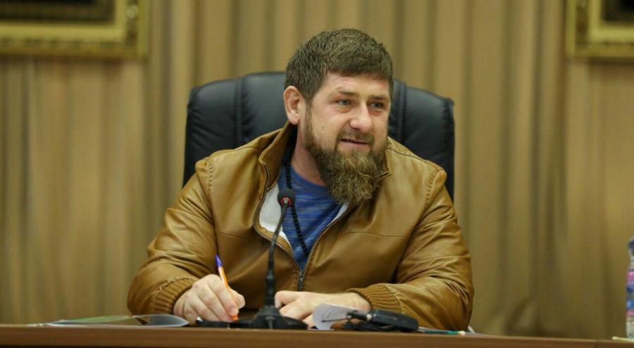Кадыров на совещании