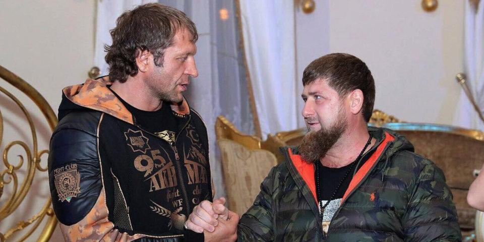 С Александром Емельяненко