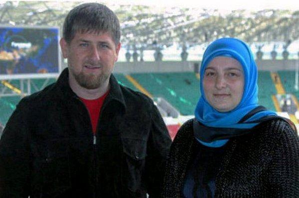 Кадыров с женой