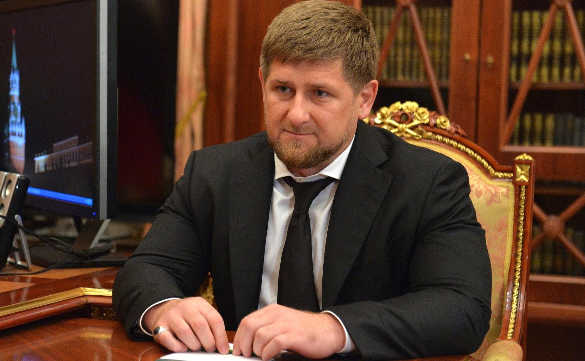 Глава Чеченской РеспубликиРамзанКадыров