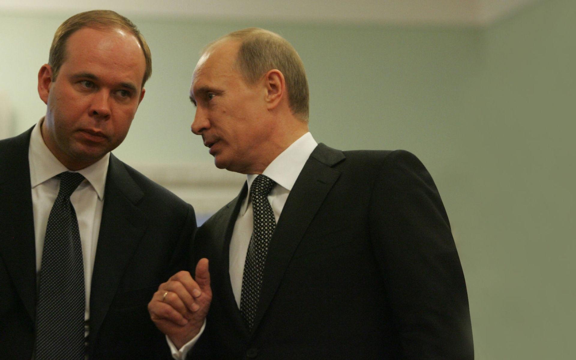 Антон Вайно и Путин