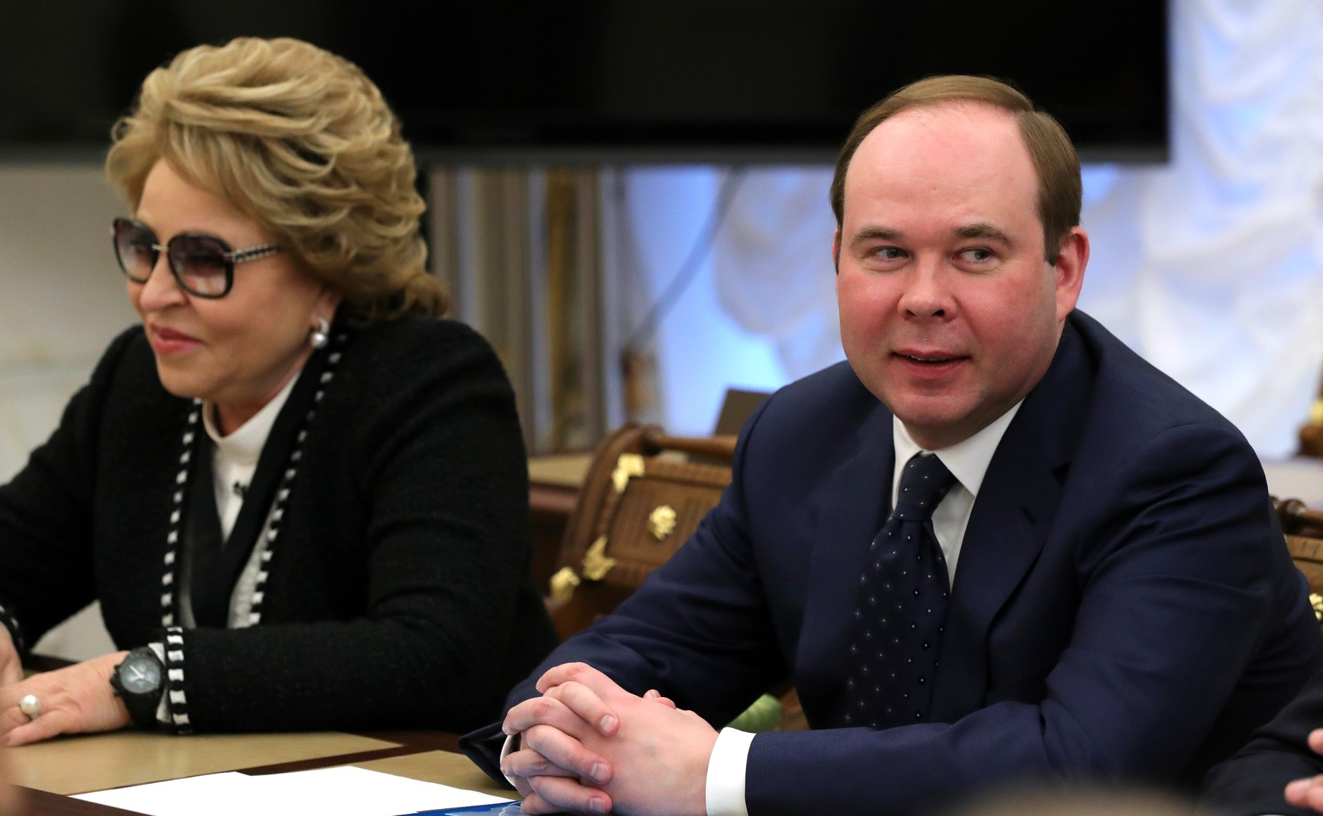 Председатель Совета Федерации Валентина Матвиенко и Руководитель Администра