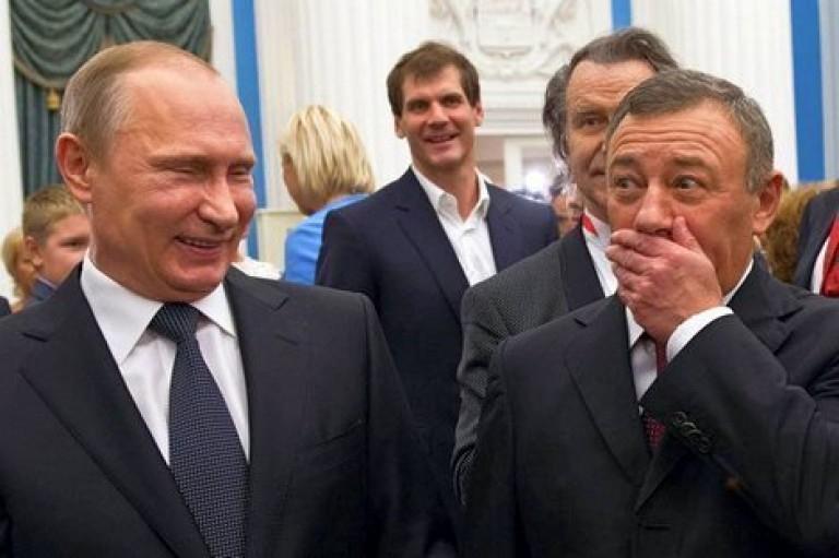 Путин и Ротенберг.