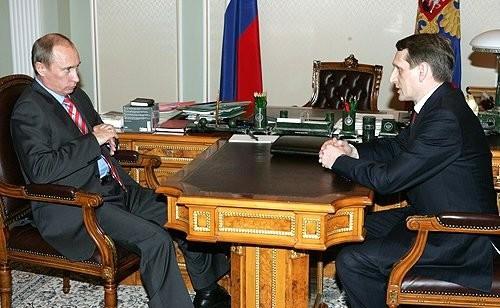 Рабочая встреча с Путиным