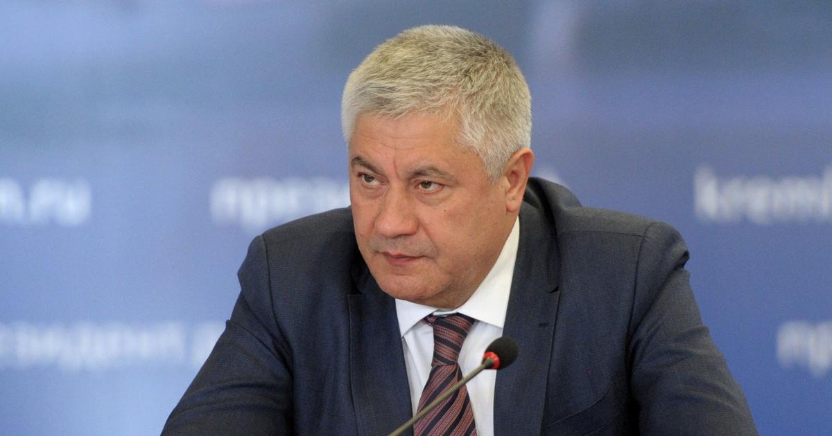 Глава МВД России Владимир Колокольцев
