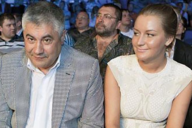 С Дочерью Екатериной