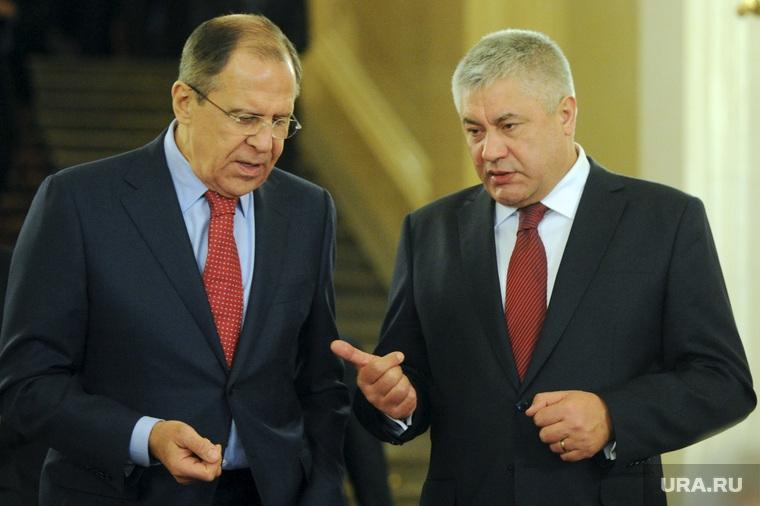Сергей Лавров и Владимир Колокольцев